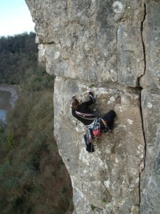 Limestone - Wintours Leap in The Wye Valley