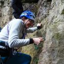 Wye Trad Lead Climbing with Christine & David