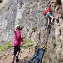 Learning to climb – Summer Fun and Family Fun
