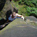 Climbing on Grit